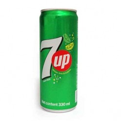 Soft drink 7 UP 330 ml