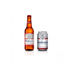 Budweiser Beer Bottle 330 ml