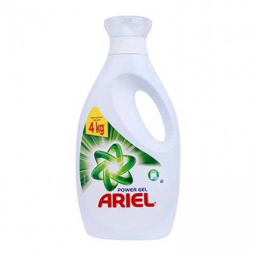 Washing liquid Ariel Concentrate in bottle