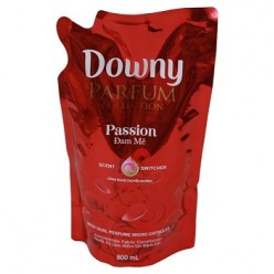 Downy Passion fabric softener in bag