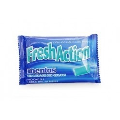 Gum Mentos Fresh Action 11 gr