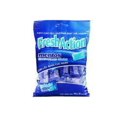Gum Mentos Fresh Action bag 140 gr