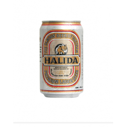 Halida beer 330 ml can brand Carlsberg
