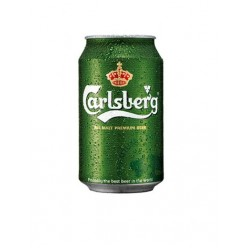 Carlsberg beer can 330 ml