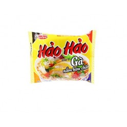 HAO HAO Instant Noodles Chicken with Enoki Mushroom flavor 72 gr