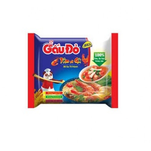 Gau Do instant noodles Shrimp and Chicken flavor