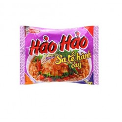 HAO HAO instant noodles hot sate onion flavor 74 gr