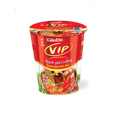 Instant Noodles Gau Do in cup 65 gr