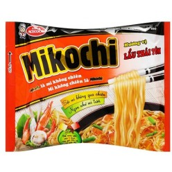 Mikochi instant noodles THAI HOT POT with shrimp 84 gr