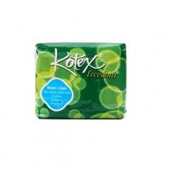 Kotex Freedom Sanitary Pads With Wings 8 x 48